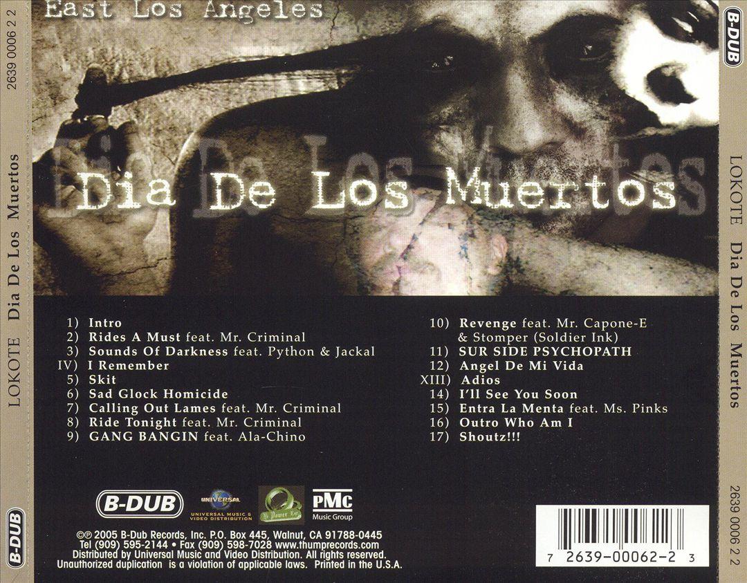 Big Lokote - Dia De Los Muertos (Back)