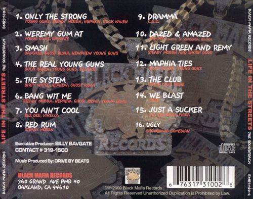 Billy Bavgate - Life In The Streets (The Sound Track) [Back]