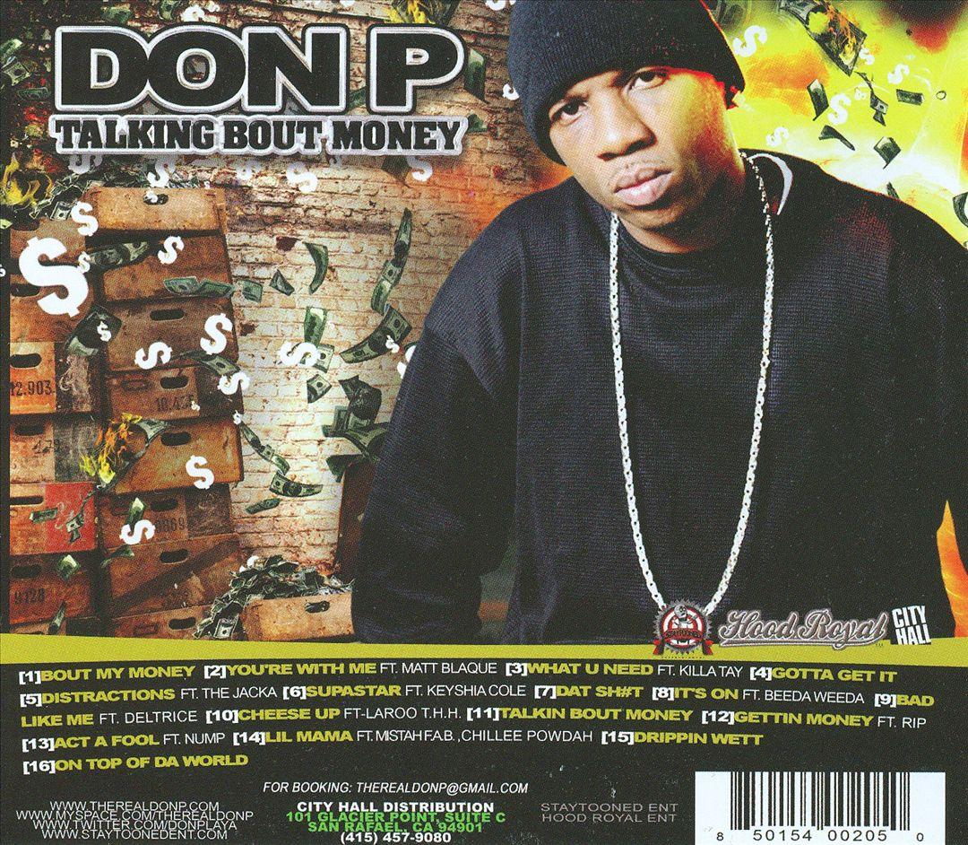 Don P - Talking Bout Money (Back)