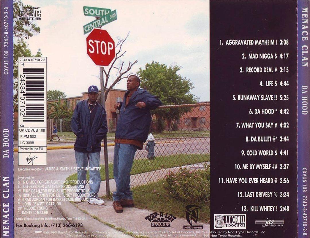 Menace Clan - Da Hood (Back)