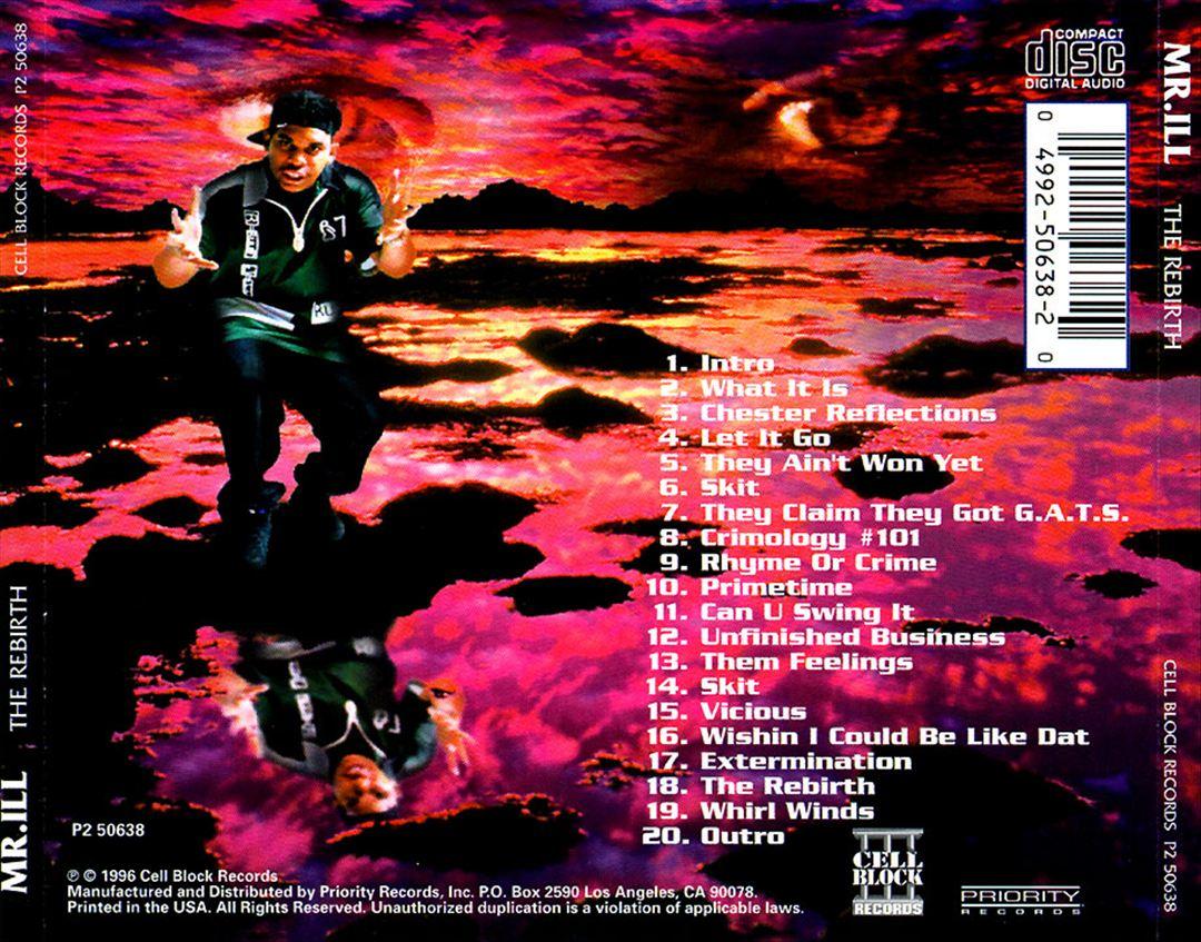 Mr. ILL - The Rebirth (Back)