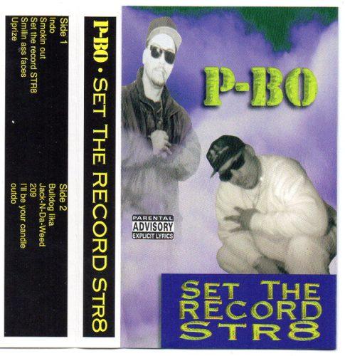 P Bo Set The Record Str8