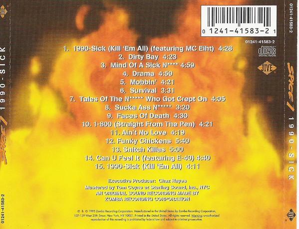 Spice 1 1990 Sick Back